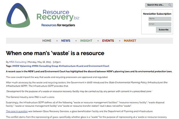 One-Man's-Waste